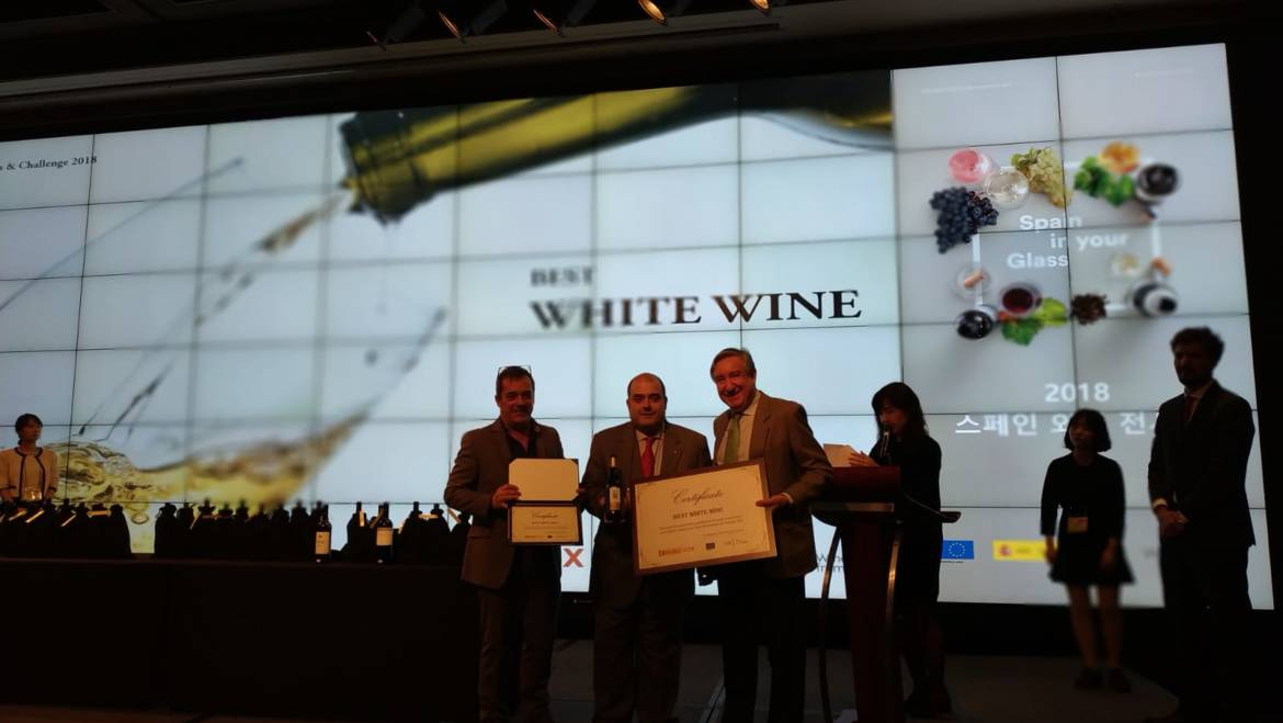 Wine Awards & Challenge Spain 2018 en Korea.
