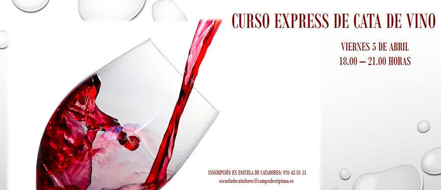 Curso Express de cata de vino